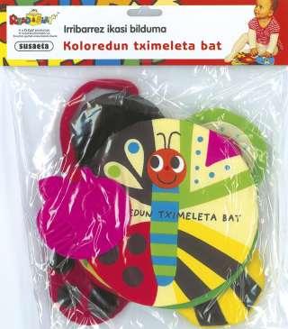 koloredun tximeleta bat