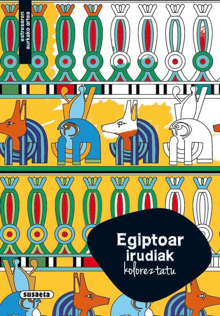 Egiptoar irudiak koloreztatu