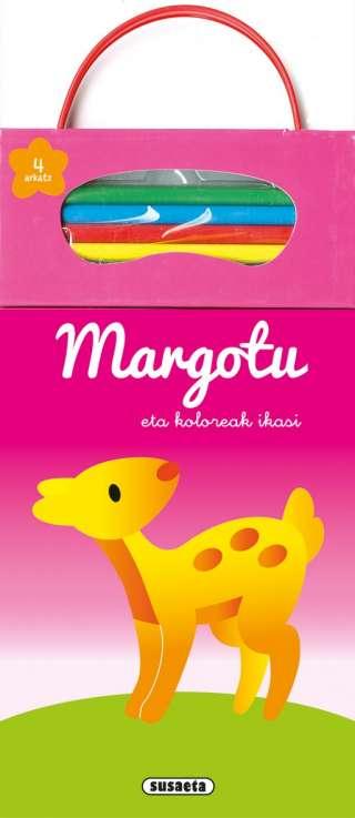 Margotu eta koloreak ikasi