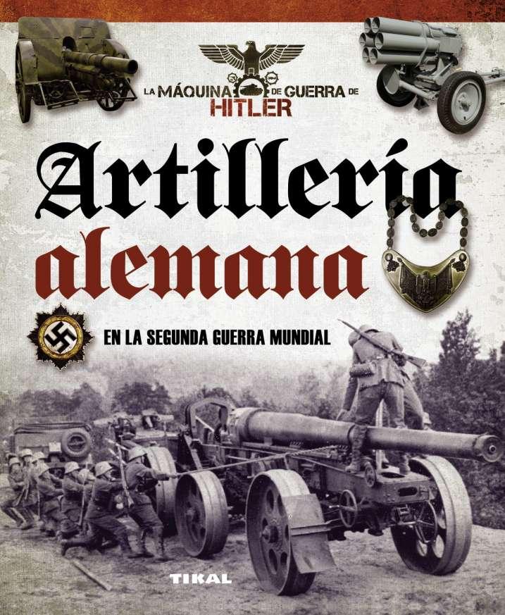 Artillería alemana en la...