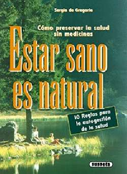 Estar sano es natural