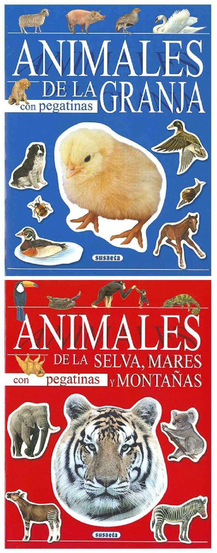 Animales con pegatinas (2...