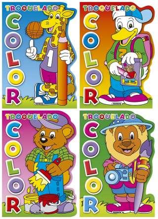 Troquelado color (4 títulos)