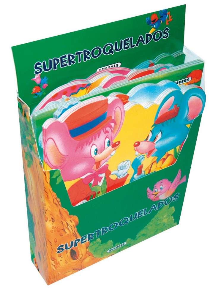 Supertroquelados (8 títulos)