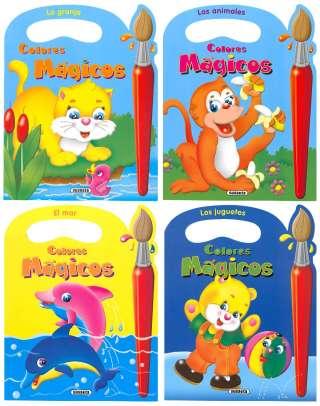 Colores mágicos (4 títulos)