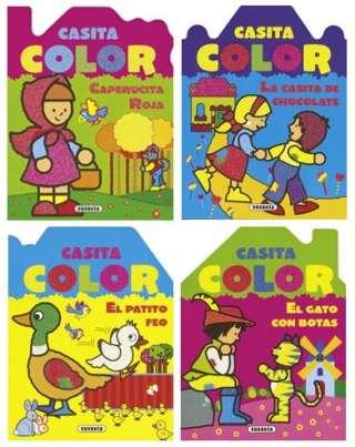Casita color (4 títulos)