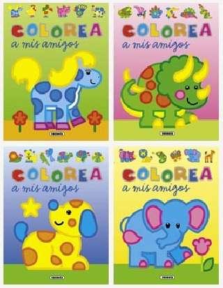 Colorea a mis amigos (4...