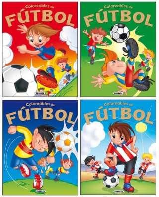 Coloreables de fútbol (4...