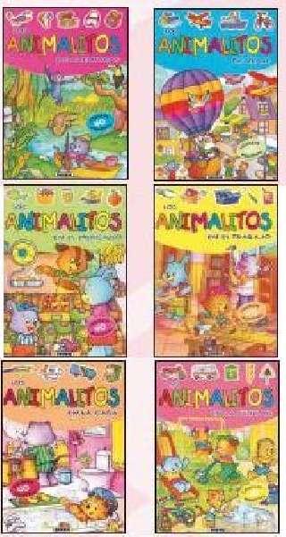 Animalitos con pegatinas (6...
