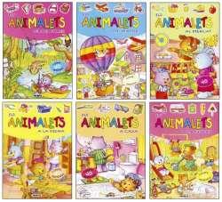 Animalets amb adhesius (6...