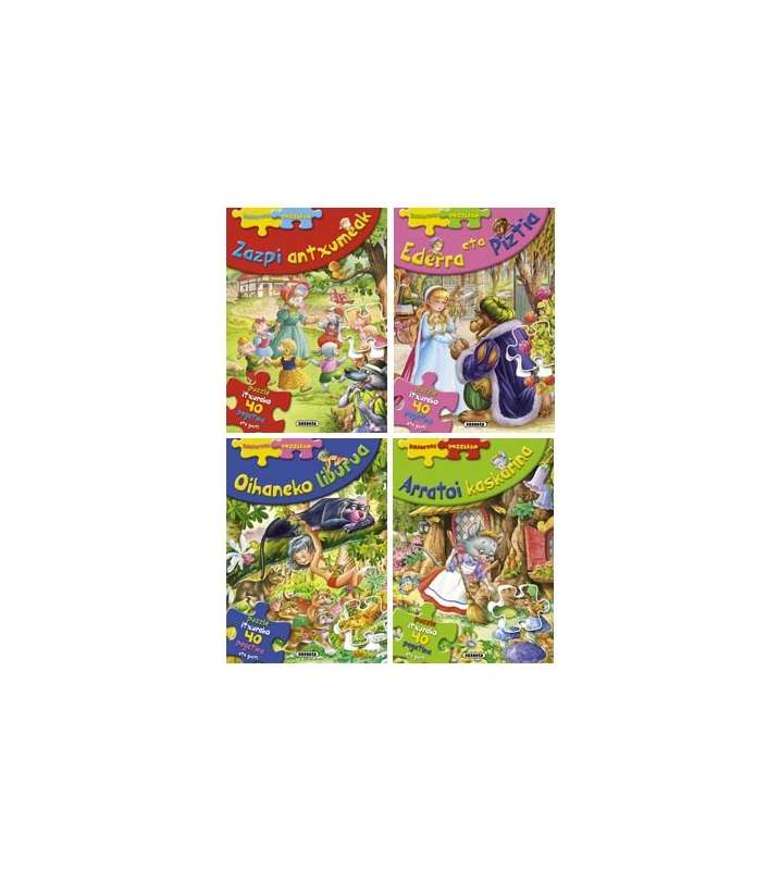 Erantsi puzzleak (4 titulu)