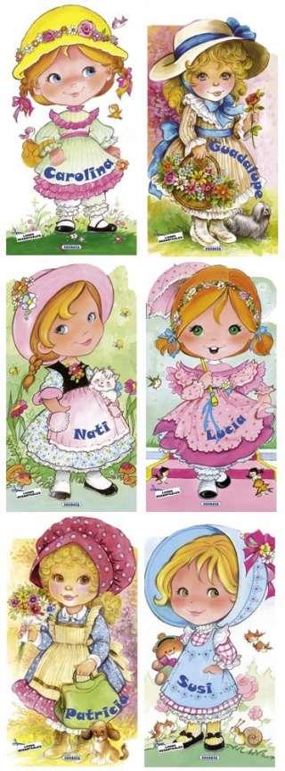 Muñecas peponas (6 títulos)