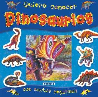Dinosaurios con pegatinas