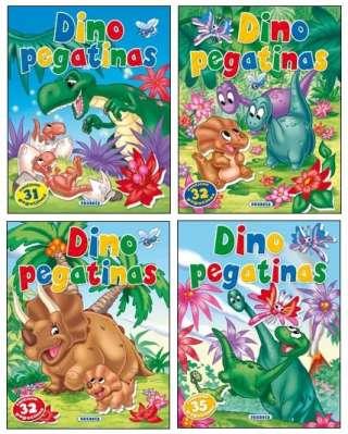Dino pegatinas (4 títulos)
