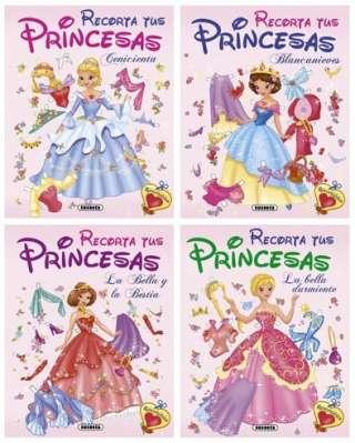 Recorta tus princesas (4...