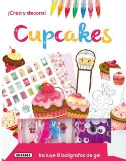 Cupcakes. ¡Crea y decora!