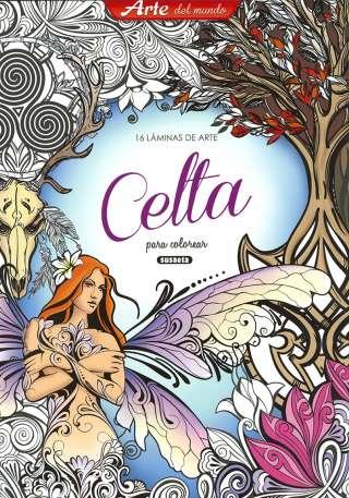 Arte celta para colorear