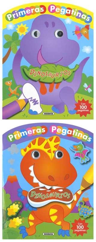 Dinosaurios con ojos y...