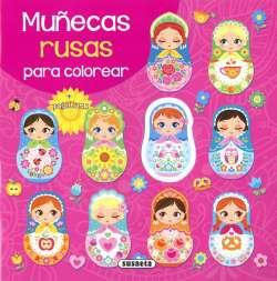 Muñecas rusas para colorear