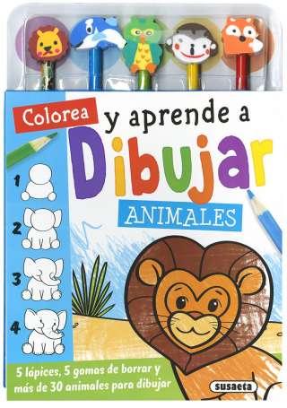 Colorea y aprende a dibujar...