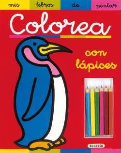 Colorea con lápices