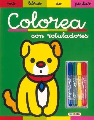 Colorea con rotuladores