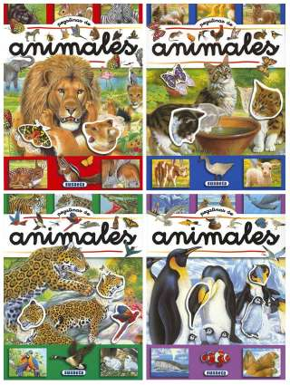 Pegatinas de animales (4...