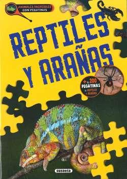Reptiles y arañas