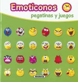 Emoticonos pegatinas y juegos