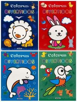 Colores divertidos (4 títulos)