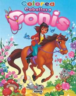 Colorea caballos y ponis 2
