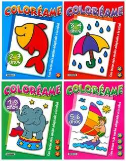 Coloréame (4 títulos)