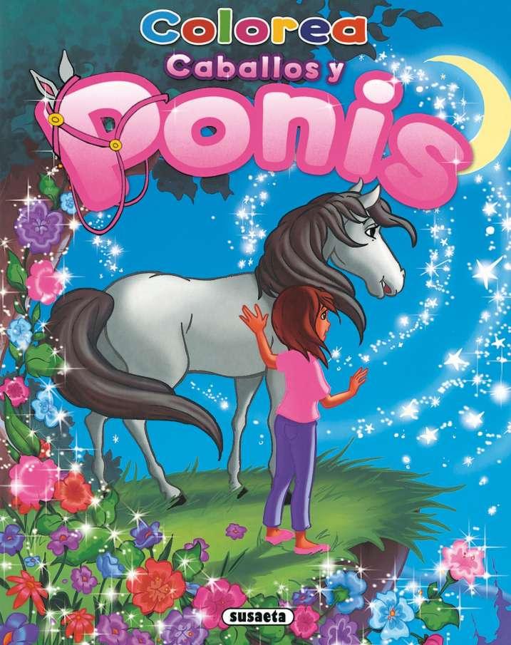 Colorea caballos y ponis 3