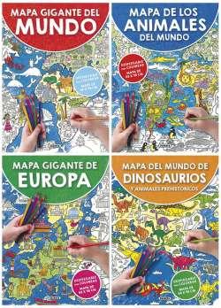 Mapa gigante para colorear...