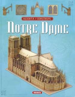 Recorta y construye Notre Dame