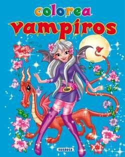 Colorea vampiros nº 1