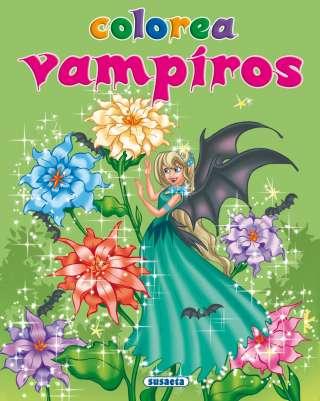 Colorea vampiros nº 3