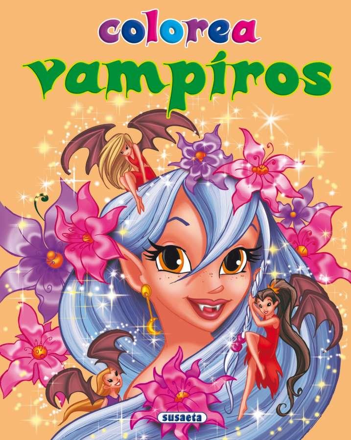 Colorea vampiros nº 4