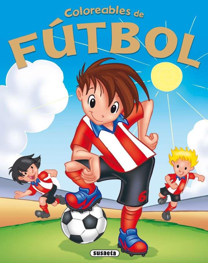 Coloreables de Fútbol nº 4