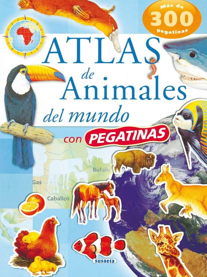 Atlas de animales del mundo...