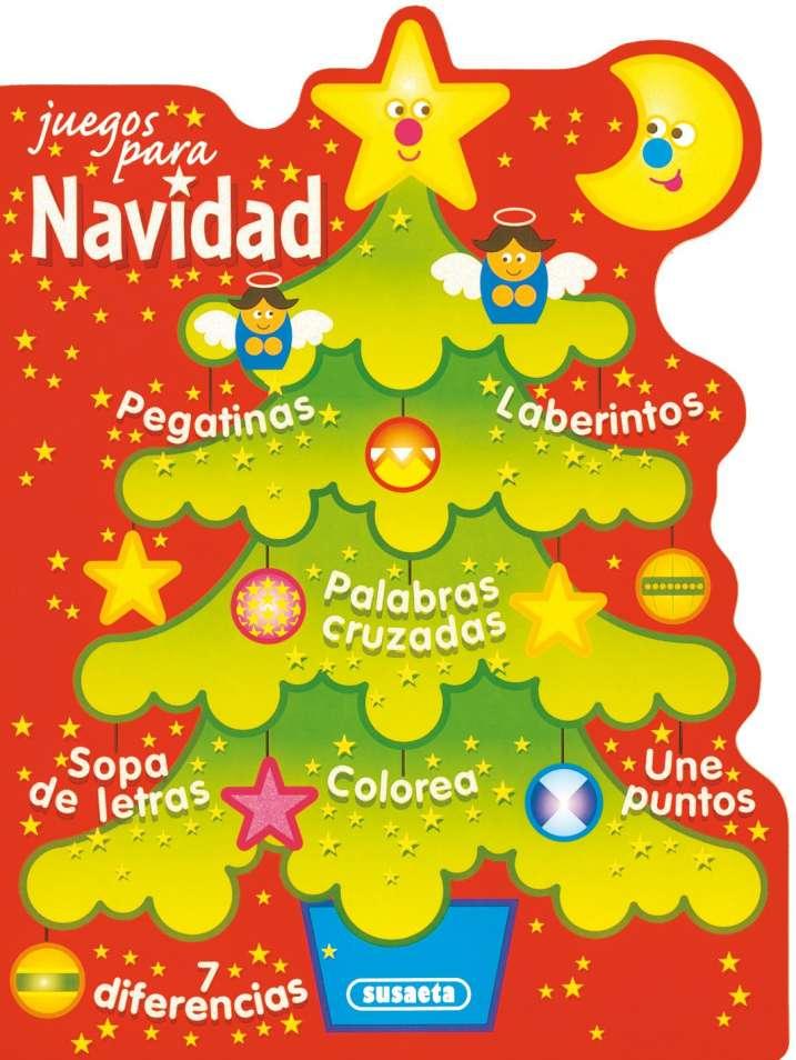 Juegos Para Navidad Con Pegatinas Nº 2 Editorial Susaeta Venta
