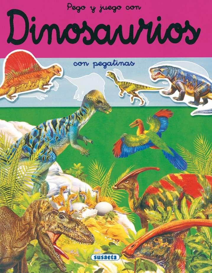Pego y juego con dinosaurios