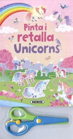 Pinta i retalla unicorns