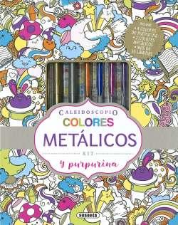 Colores metálicos y purpurina