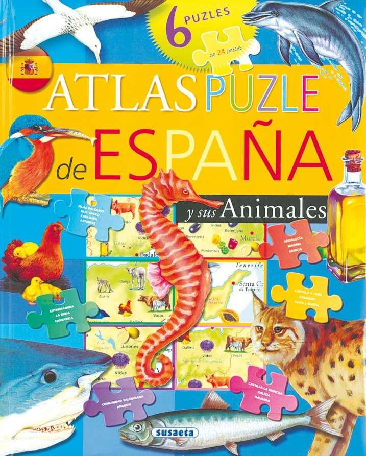 Atlas puzle de España y sus...