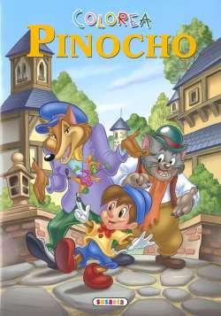 Colorea Pinocho