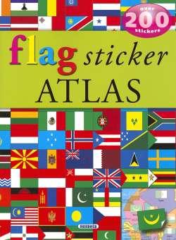 Flag sticker atlas