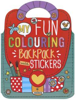 My fun colouring backpack...