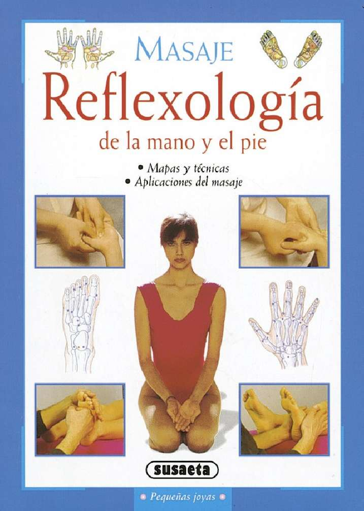 Reflexología de la mano y...
