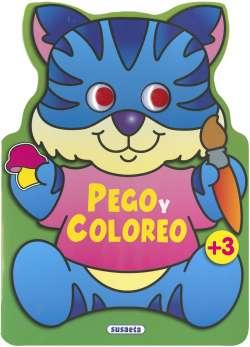 Pego y coloreo animales 3